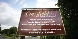 contact the cressfield hotel