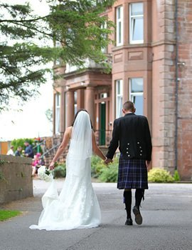 weddings cressfield hotel ecclefechan